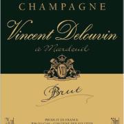 étiquette cuvée Vincent Delouvin